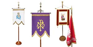 Flag poles & Banner stand