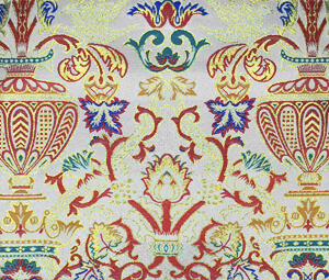 Liturgical tapestry fabric