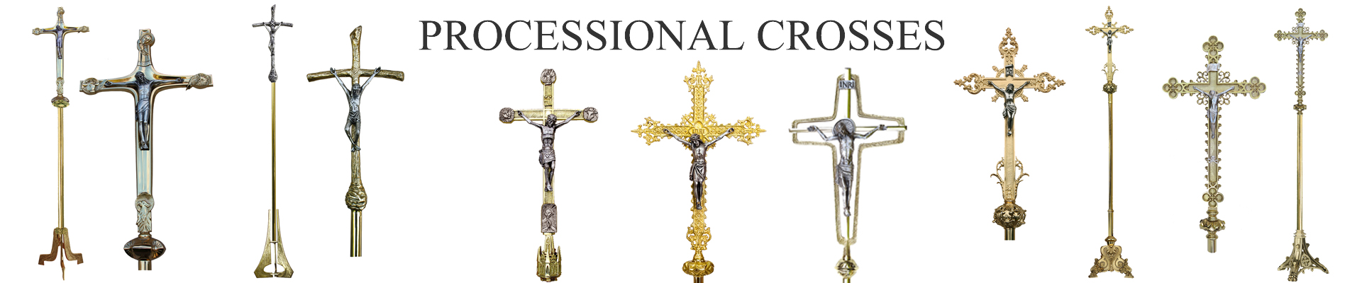 Processional crosses
